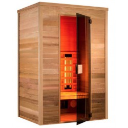 Sauna infrared Multiwave 130-2 seater Holl's