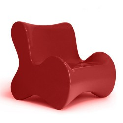 Soft Butaca armchair Vondom Red