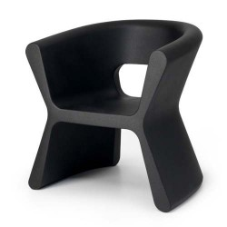 PAL furrow Chair Vondom black
