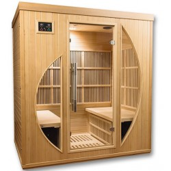 Sauna infrarouge Rowen Club 4 places - Selection VerySpas