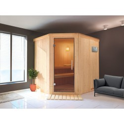 Sauna Vapeur 9 kW traditionnel Finlandais 2-4 places Ulla Prestige - VerySpas Selects