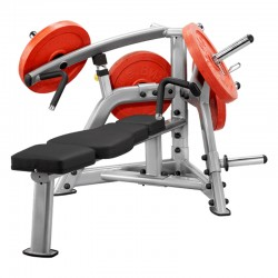 Flat bench press arm Plate Load PLBP SteelflexBanc dish Plate Load PLBP Steelflex hand press