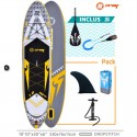"""Stand Up Paddle X 2 X-Rider Zray 10'10 """""""