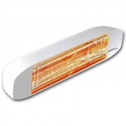 Heating infrared Heliosa Hi Design 11 white Carrara 1500W IPX5