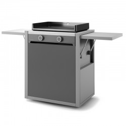 Trolley modern steel closed 60 forge Adour
