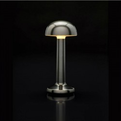 Table Light Imagilights Led Wireless Collection Moments Cadet Grey Dome