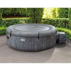 Spa inflable Intex Baltik Bubbles Lujo Gris Cerusé 4 Lugares