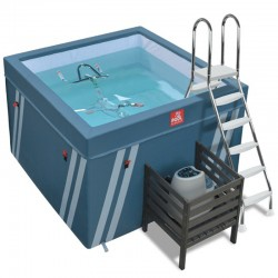 Spa Fit's Pool Fitness Pool with 1 Aquabike