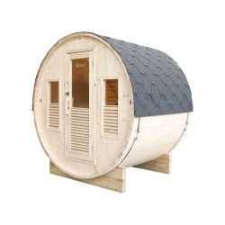 Gaïa Bella 3-seater traditional outdoor sauna