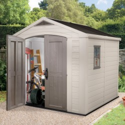 Keter resin garden shed 6,6m² Sydney with floor