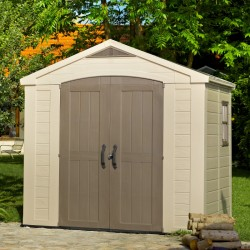 Keter resin garden shed 8,5m² Sydney with floor